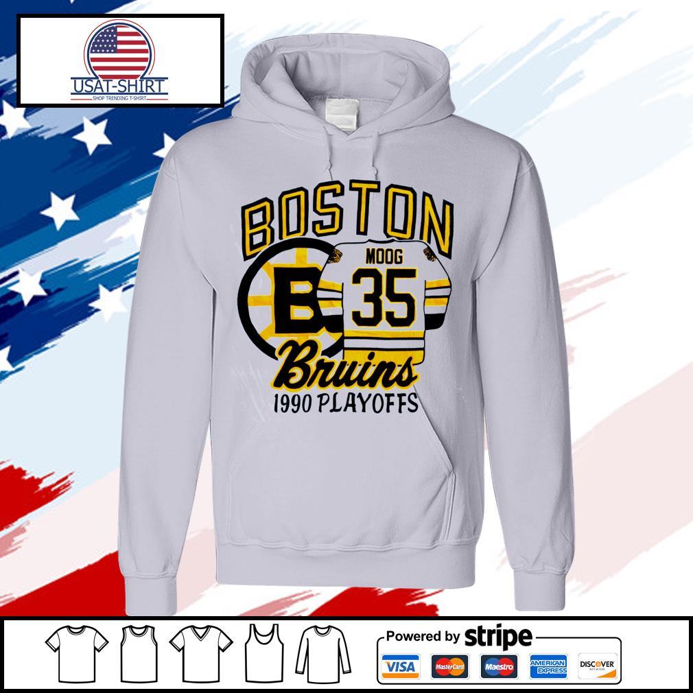 Boston Bruins 1990 playoffs s hoodie