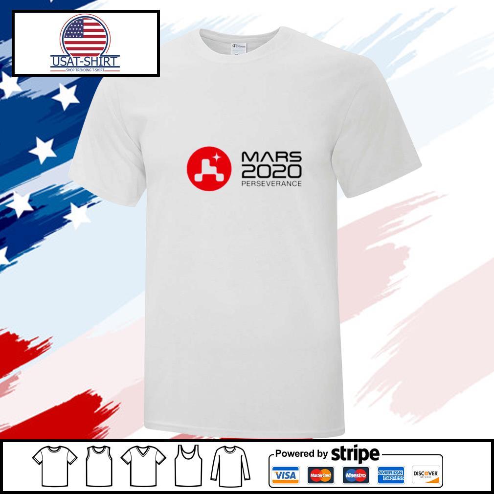 Mars 2020 perseverance shirt
