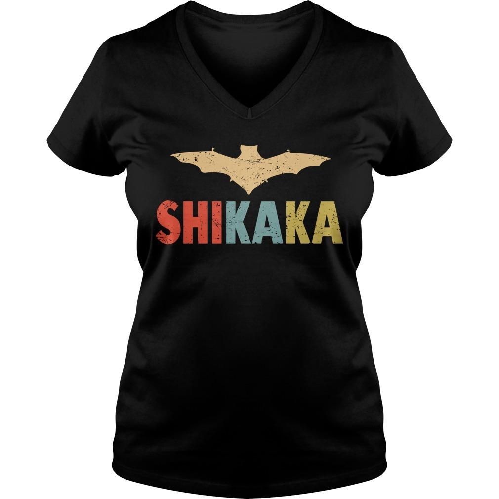 Ace ventura quote shikaka V-neck T-shirt
