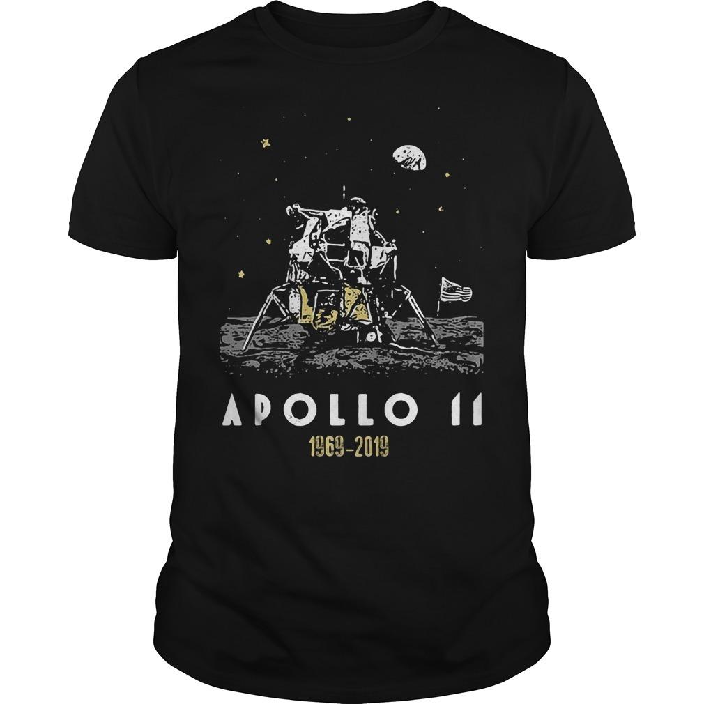 Apollo 11 50th anniversary 1969 2019 Guys Shirt