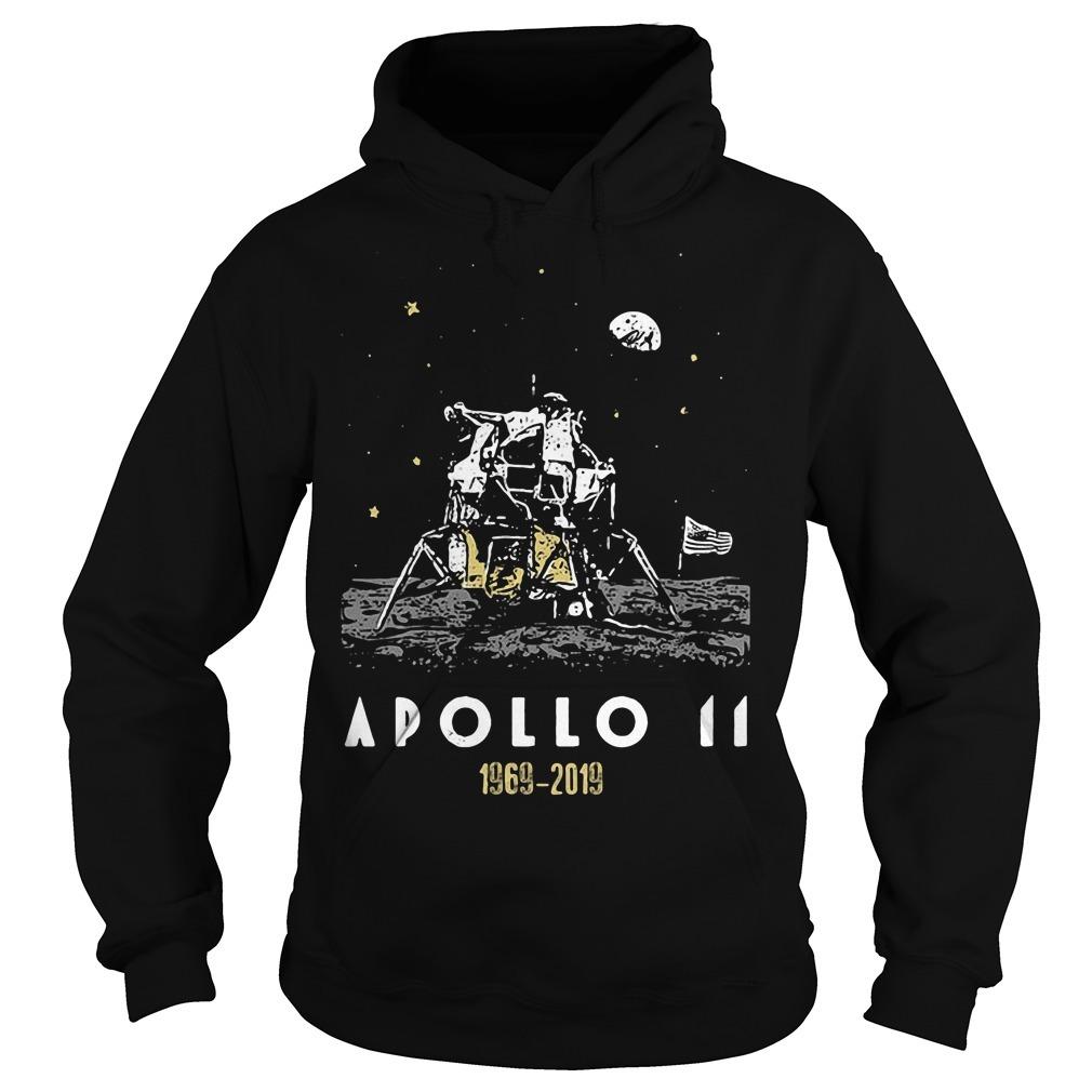 Apollo 11 50th anniversary 1969 2019 Hoodie