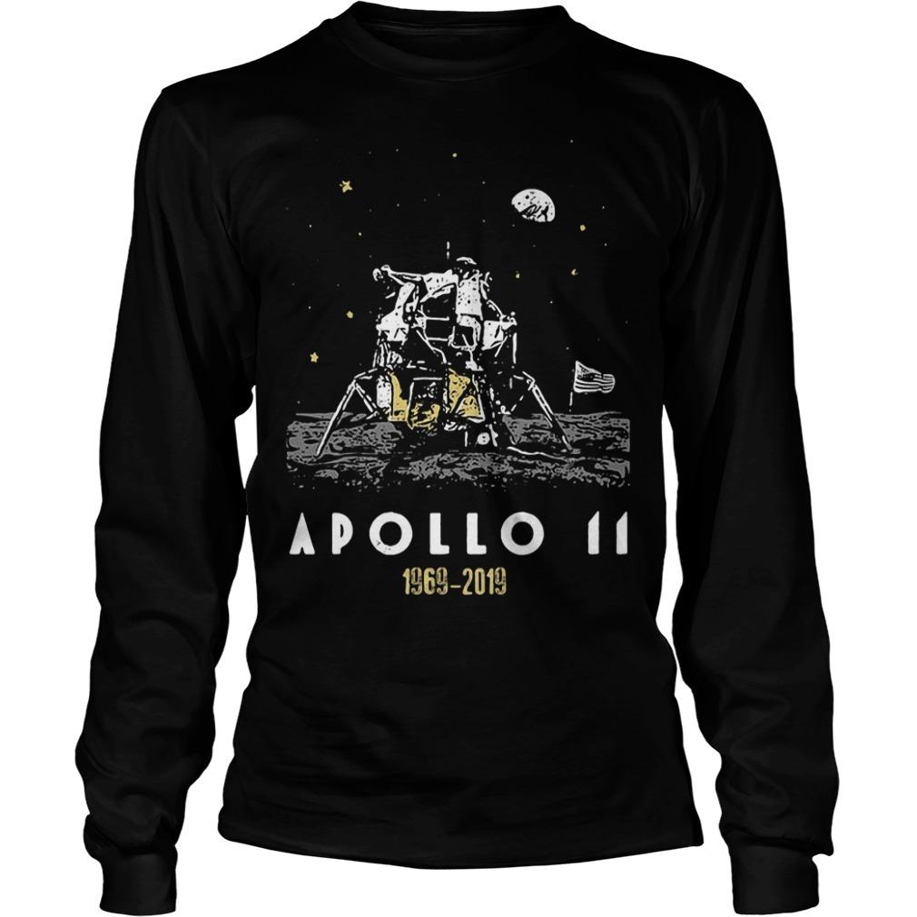 Apollo 11 50th anniversary 1969 2019 Longsleeve Tee
