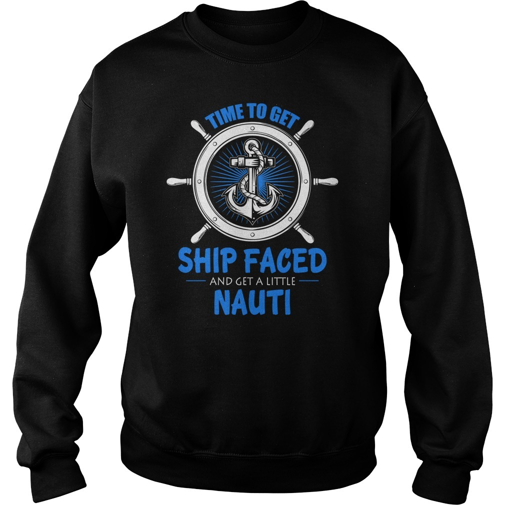 Cruise time to get ship faced and a get little nauti Sweater