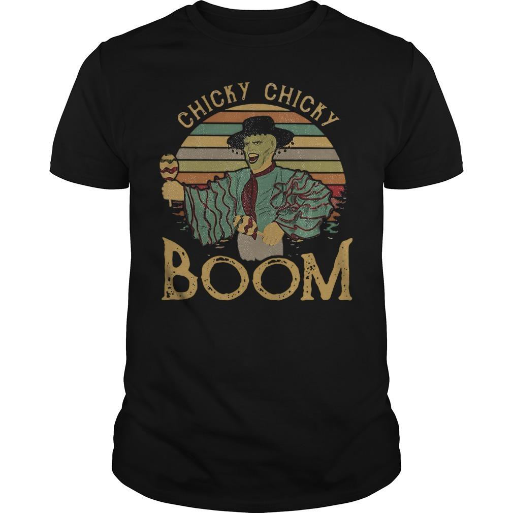 Cuban Pete Jim Carrey chicky chicky boom retro Guys Shirt
