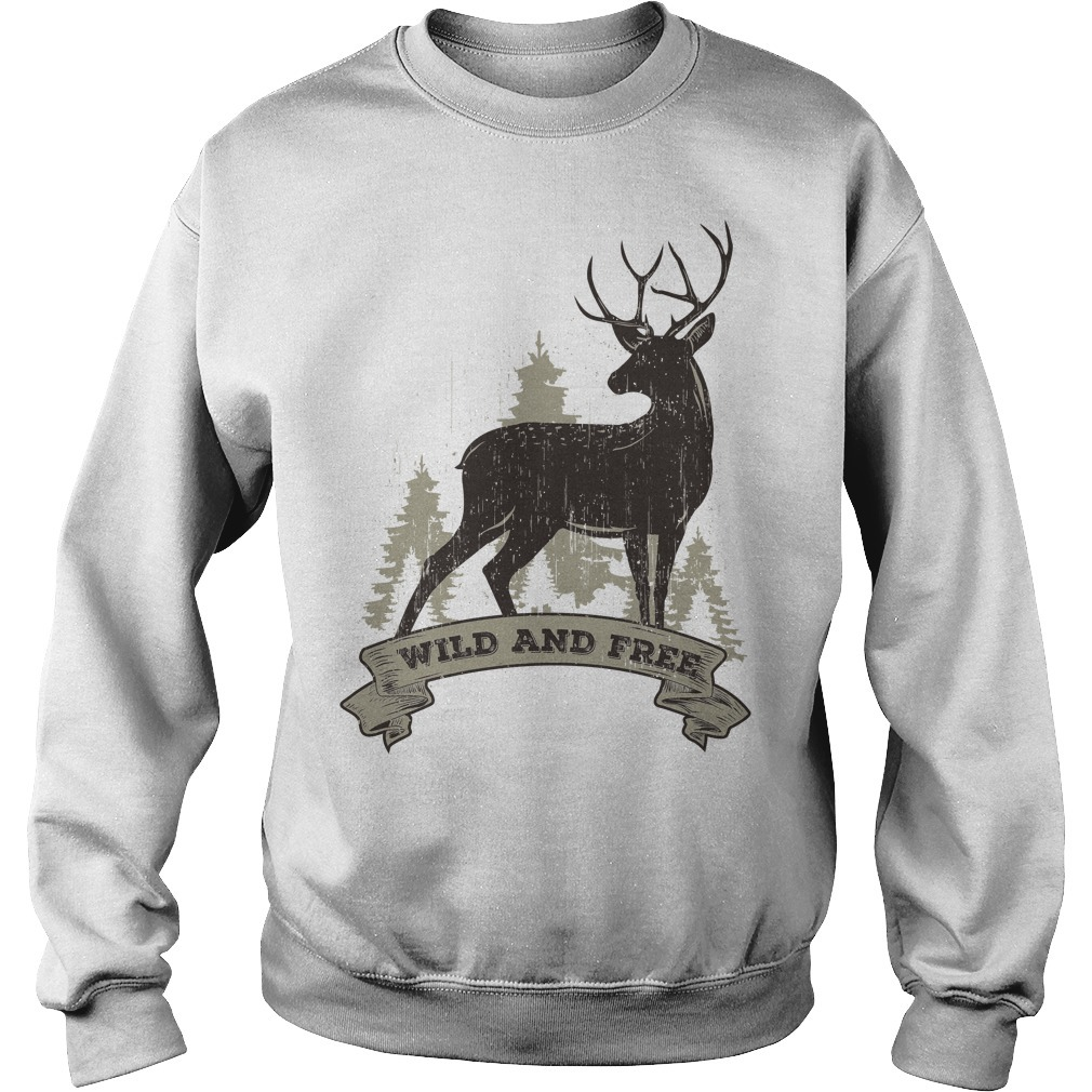 Deer wild and free Sweater