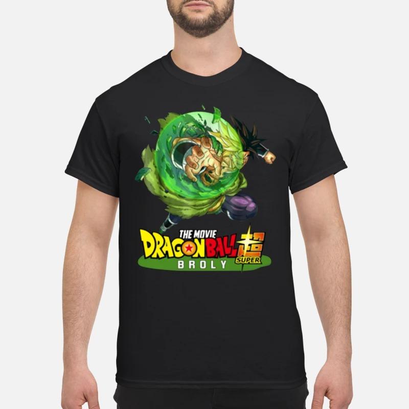 Dragon ball 2019 super broly Guys Shirt