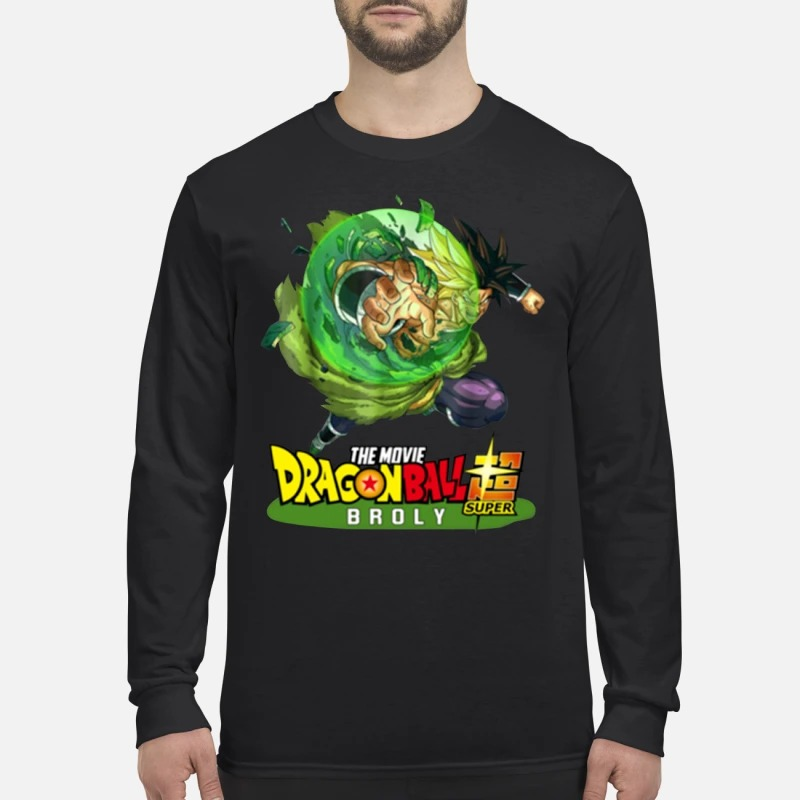 Dragon ball 2019 super broly Longsleeve Tee