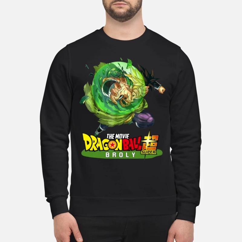 Dragon ball 2019 super broly Sweater
