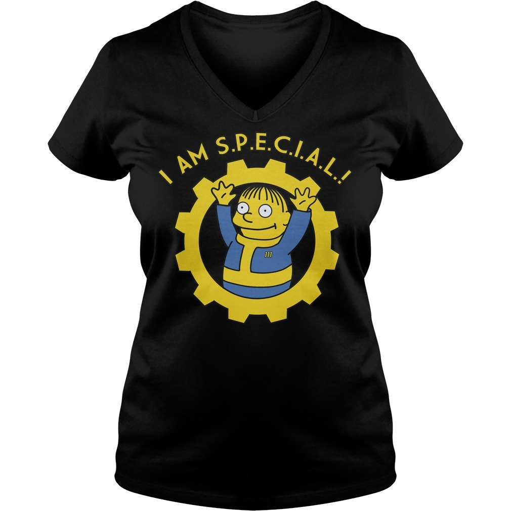 Fallout I am special V-neck T-shirt