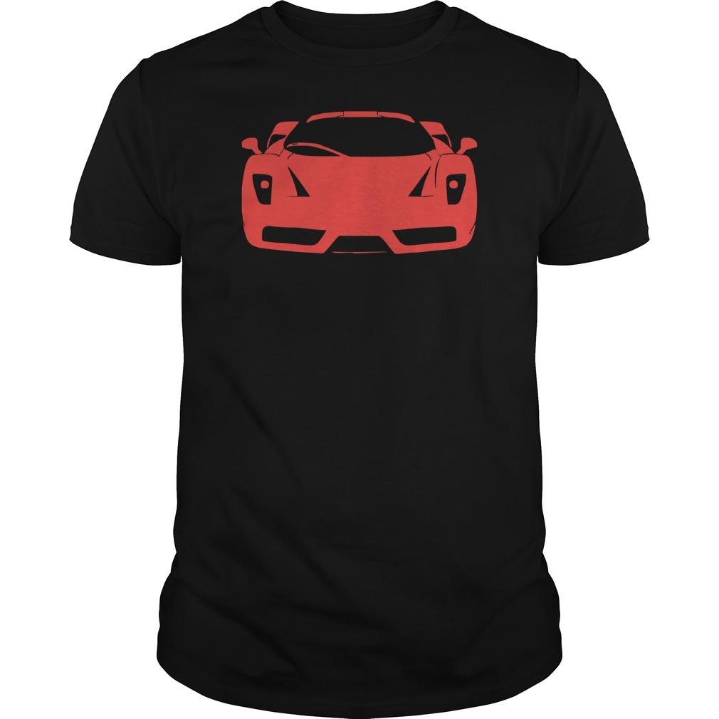 Ferrari enzo modena tifosi italien monza racing car exot race ita shirt