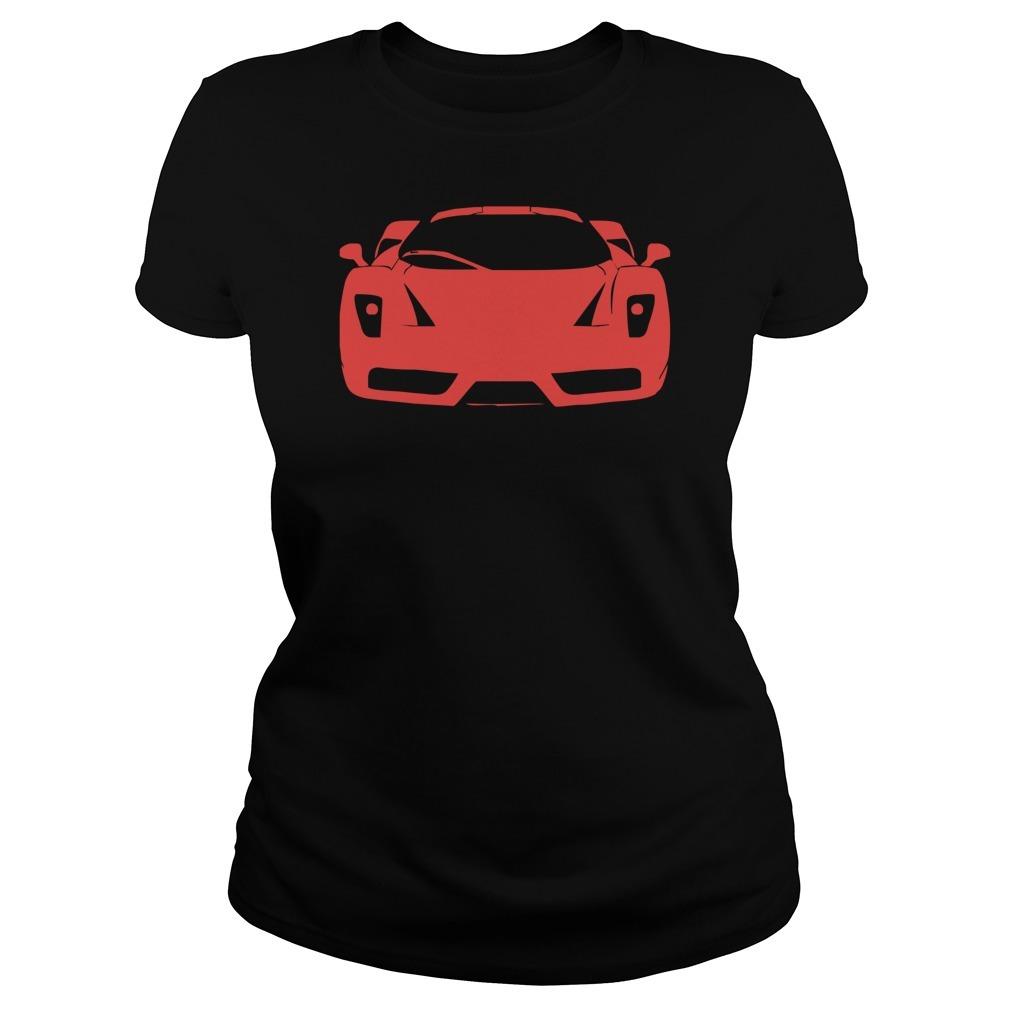 Ferrari enzo modena tifosi italien monza racing car exot race ita Ladies Tee