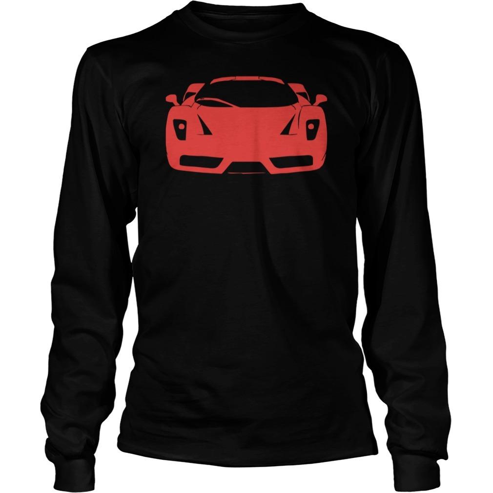 Ferrari enzo modena tifosi italien monza racing car exot race ita Longsleeve Tee