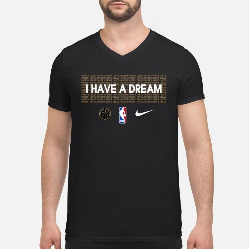 I have a dream nba V-neck T-shirt