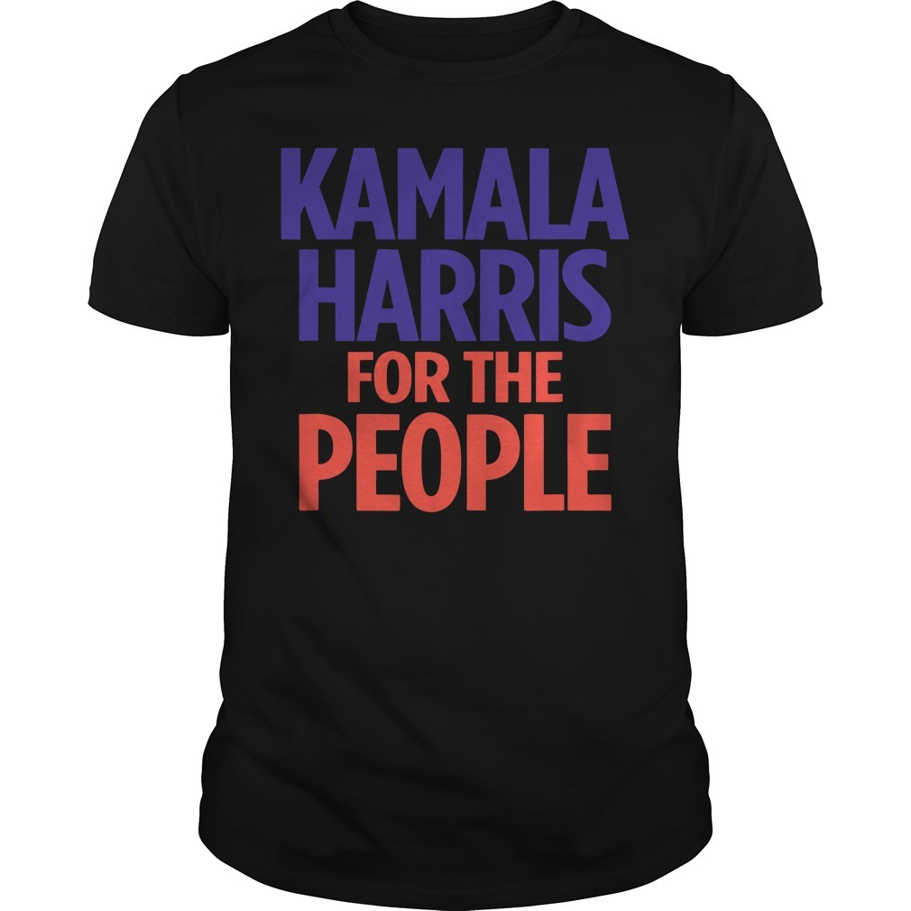 Kamala Harris for the people Guys Shirt