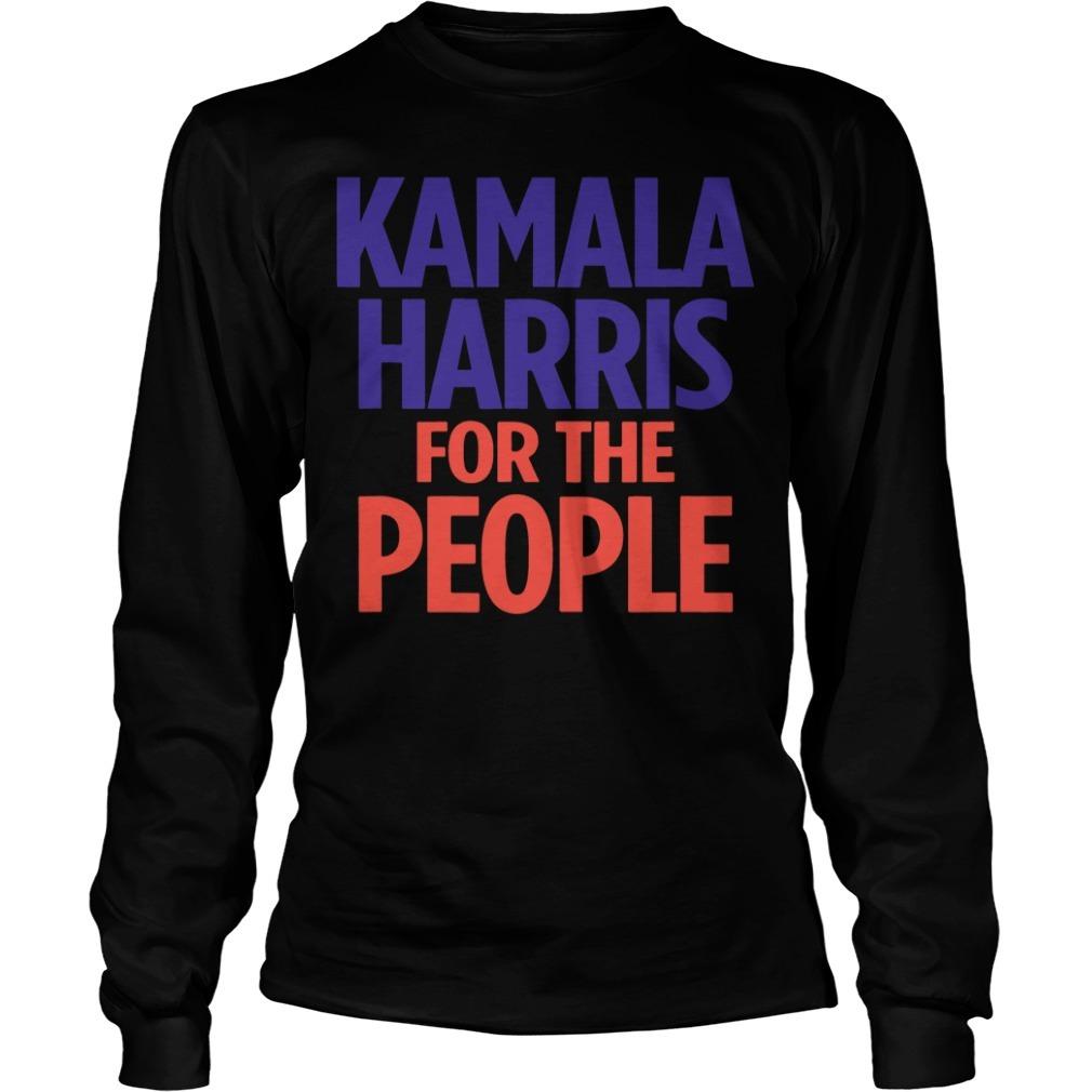 Kamala Harris for the people Longsleeve Tee