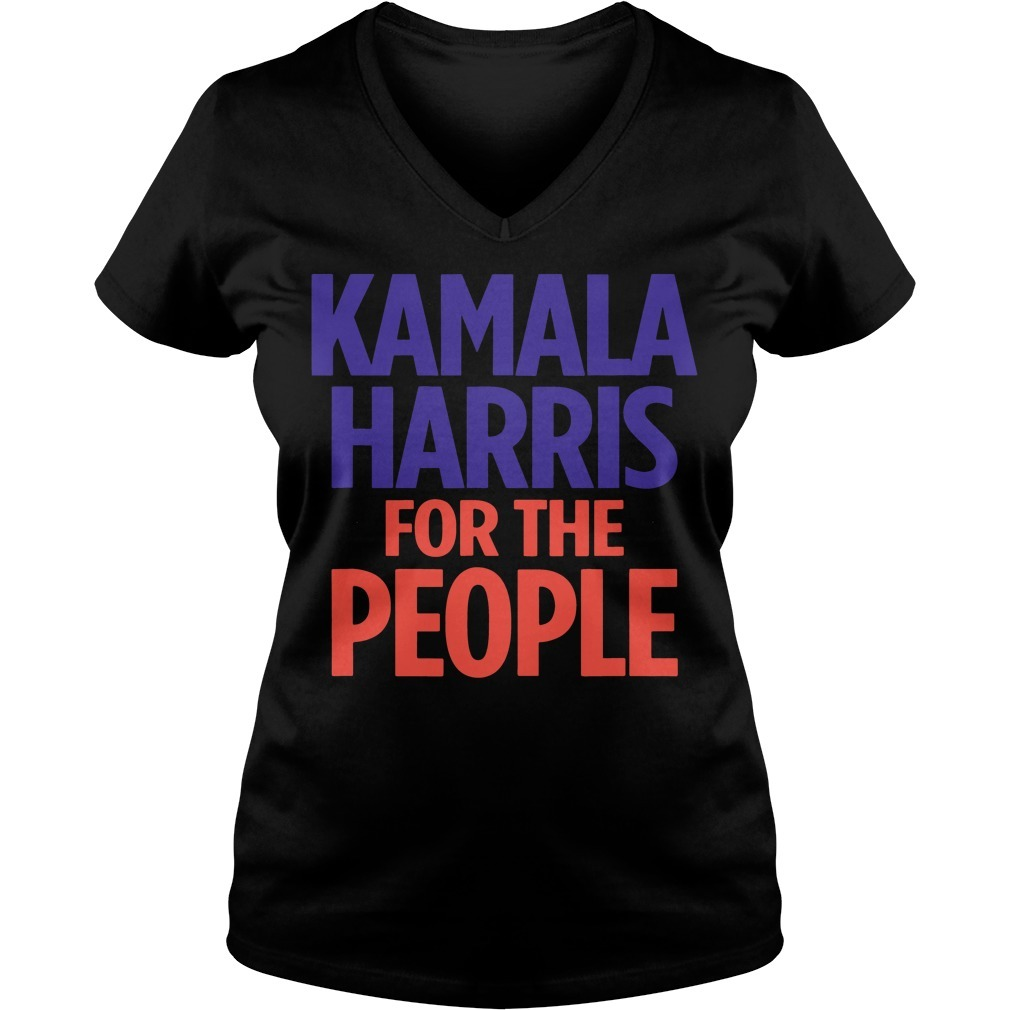 Kamala Harris for the people V-neck T-shirt