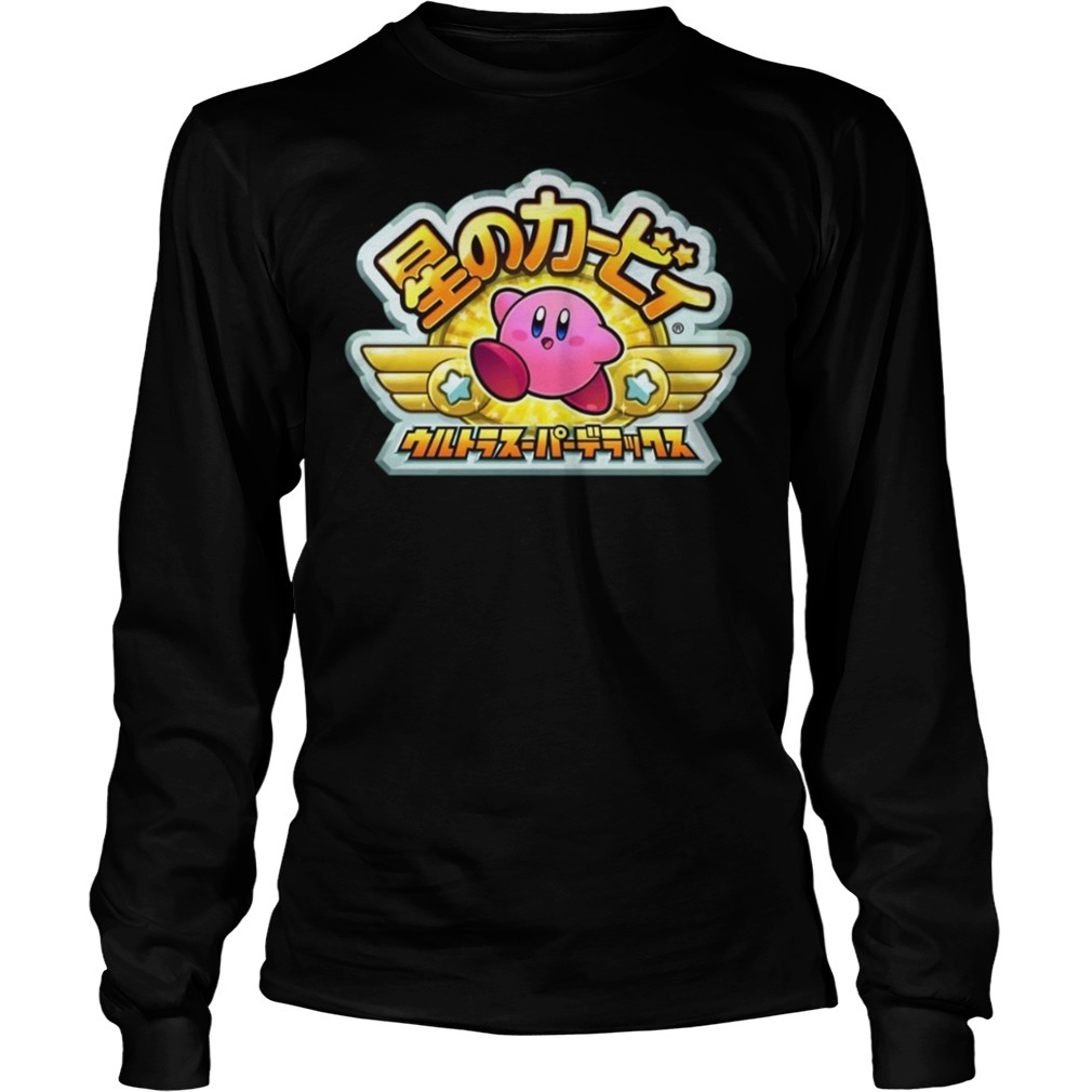 Kirby Japan Longsleeve Tee
