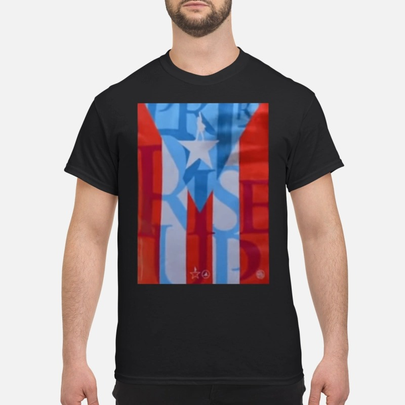 Lin-manuel Miranda Hamilton Puerto Rico Guys Shirt
