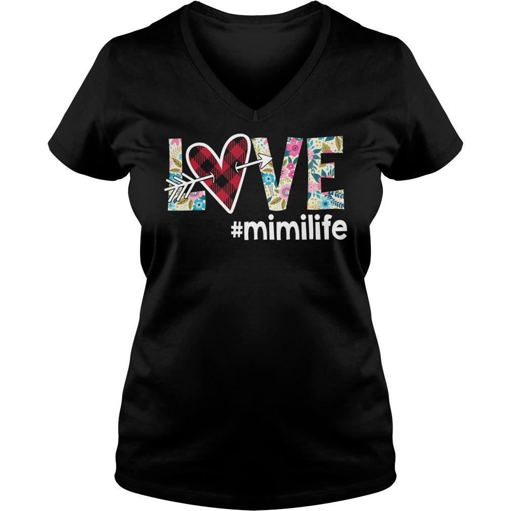 Love mimilife V-neck T-shirt