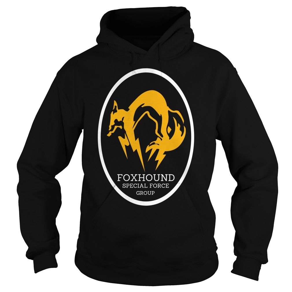 Metal gear solid foxhound apecial force group Hoodie