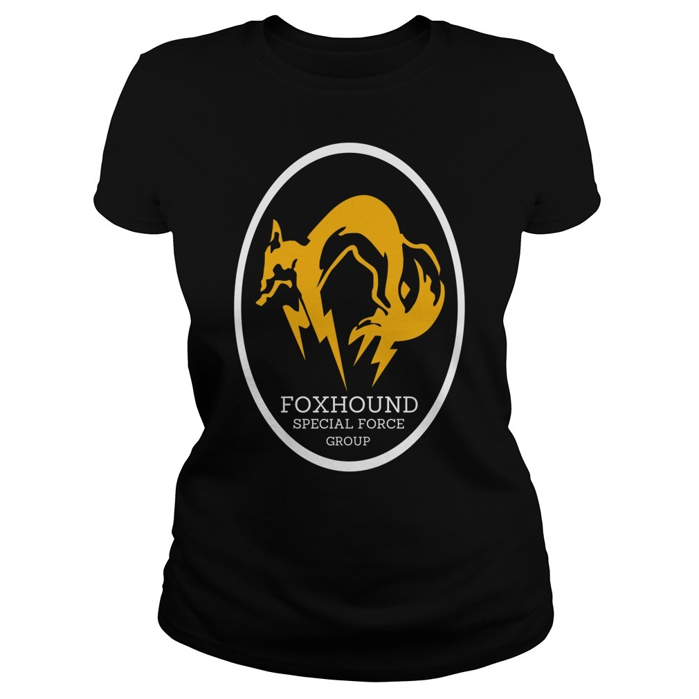 Metal gear solid foxhound apecial force group Ladies Tee