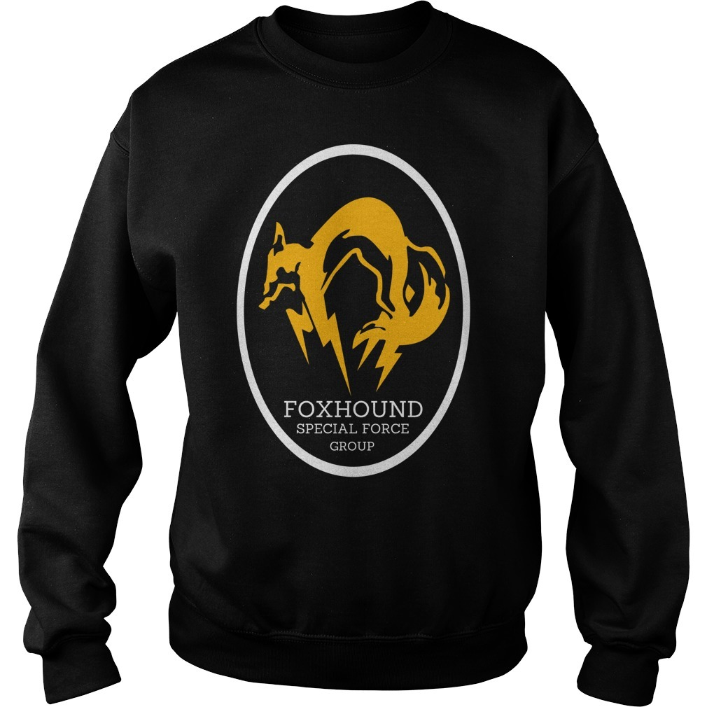 Metal gear solid foxhound apecial force group Sweater