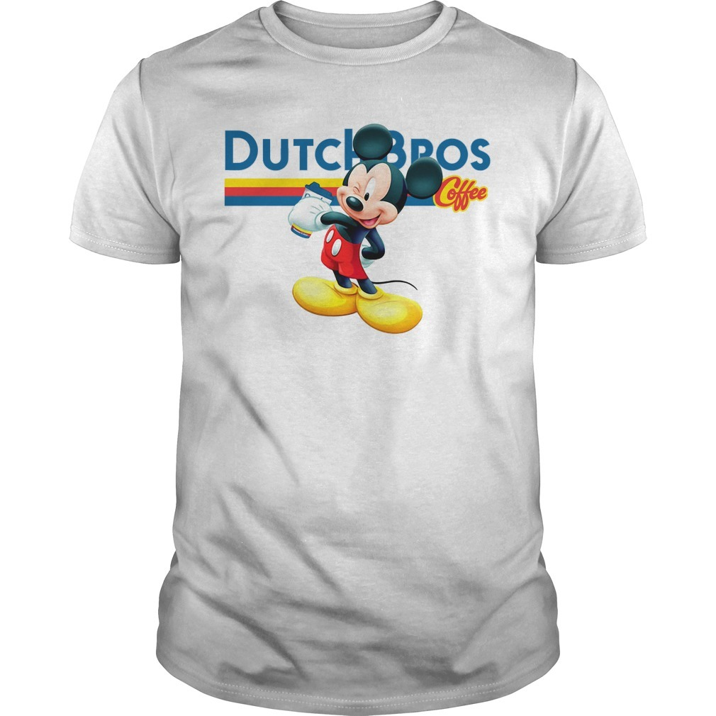 Mickey mouse Dutch Bros coffee shirt