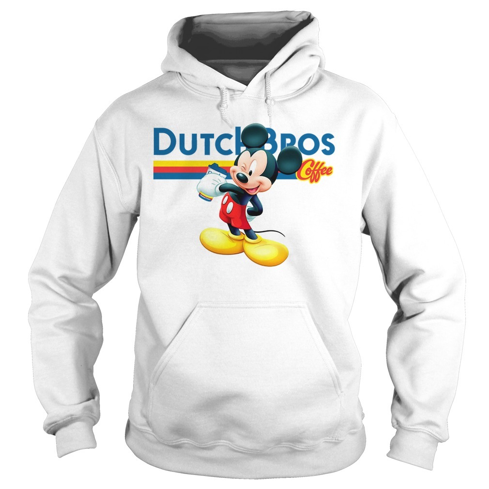 Mickey mouse Dutch Bros coffee Hoodie