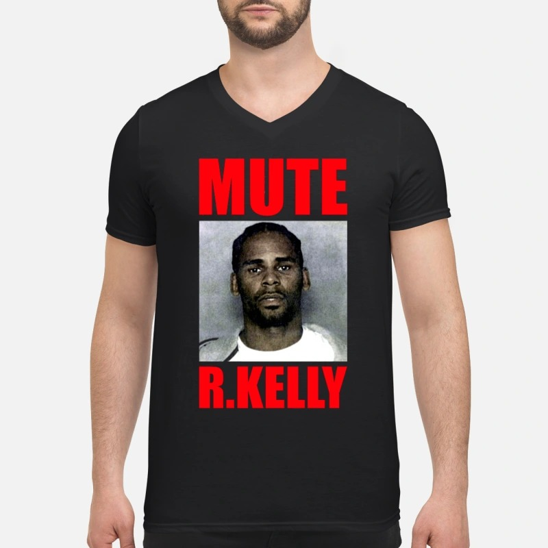 Mute R.Kelly V-neck T-shirt