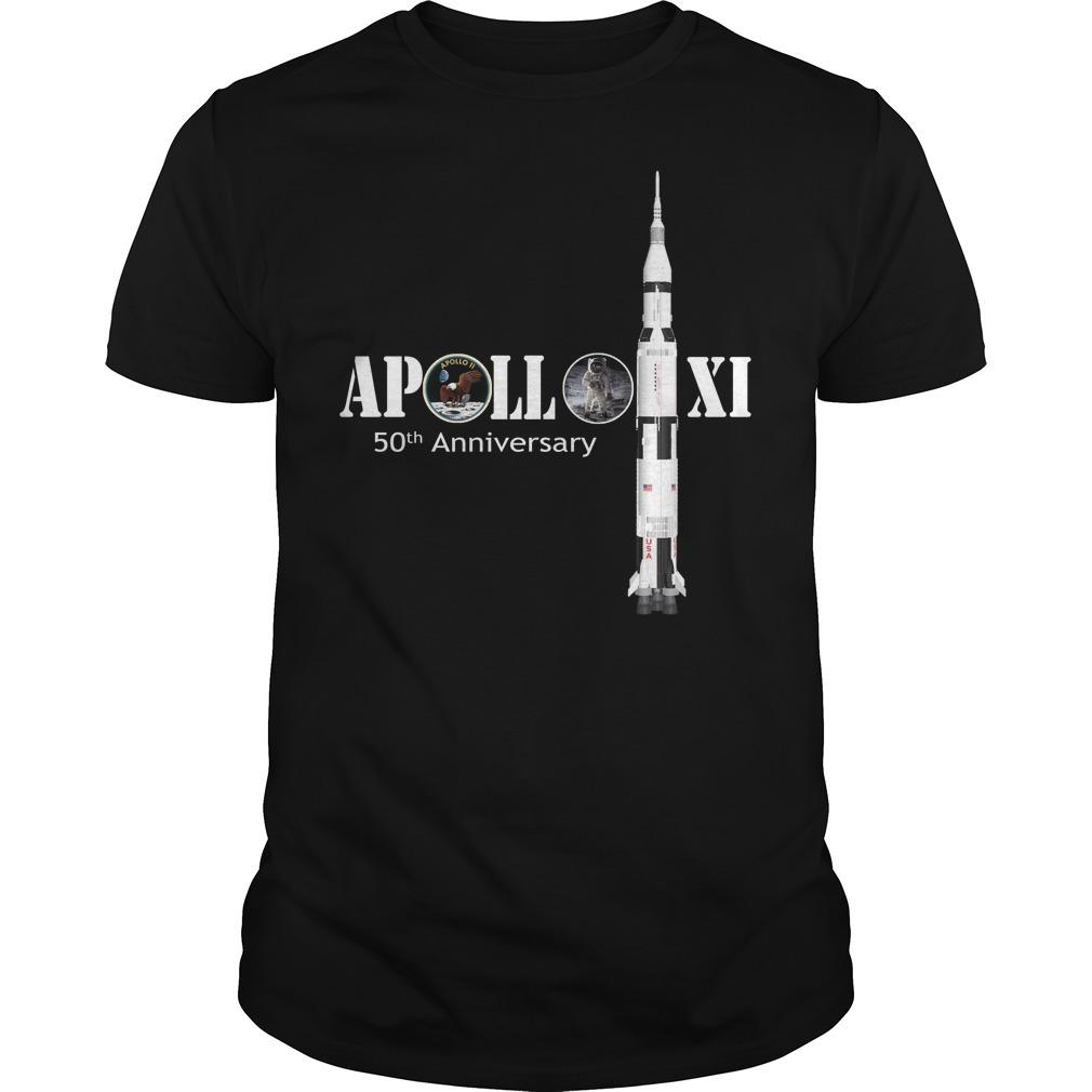 Nasa Apollo 11 50th anniversary shirt