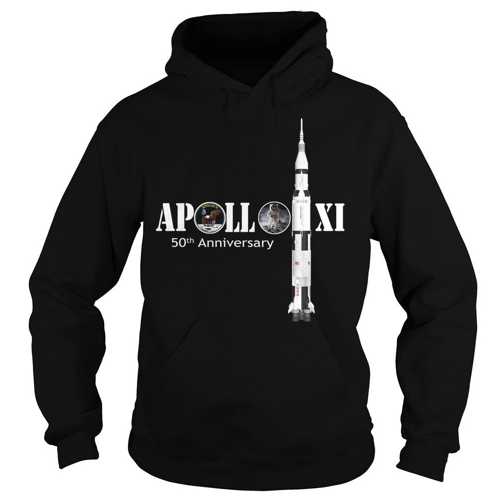 Nasa Apollo 11 50th anniversary Hoodie