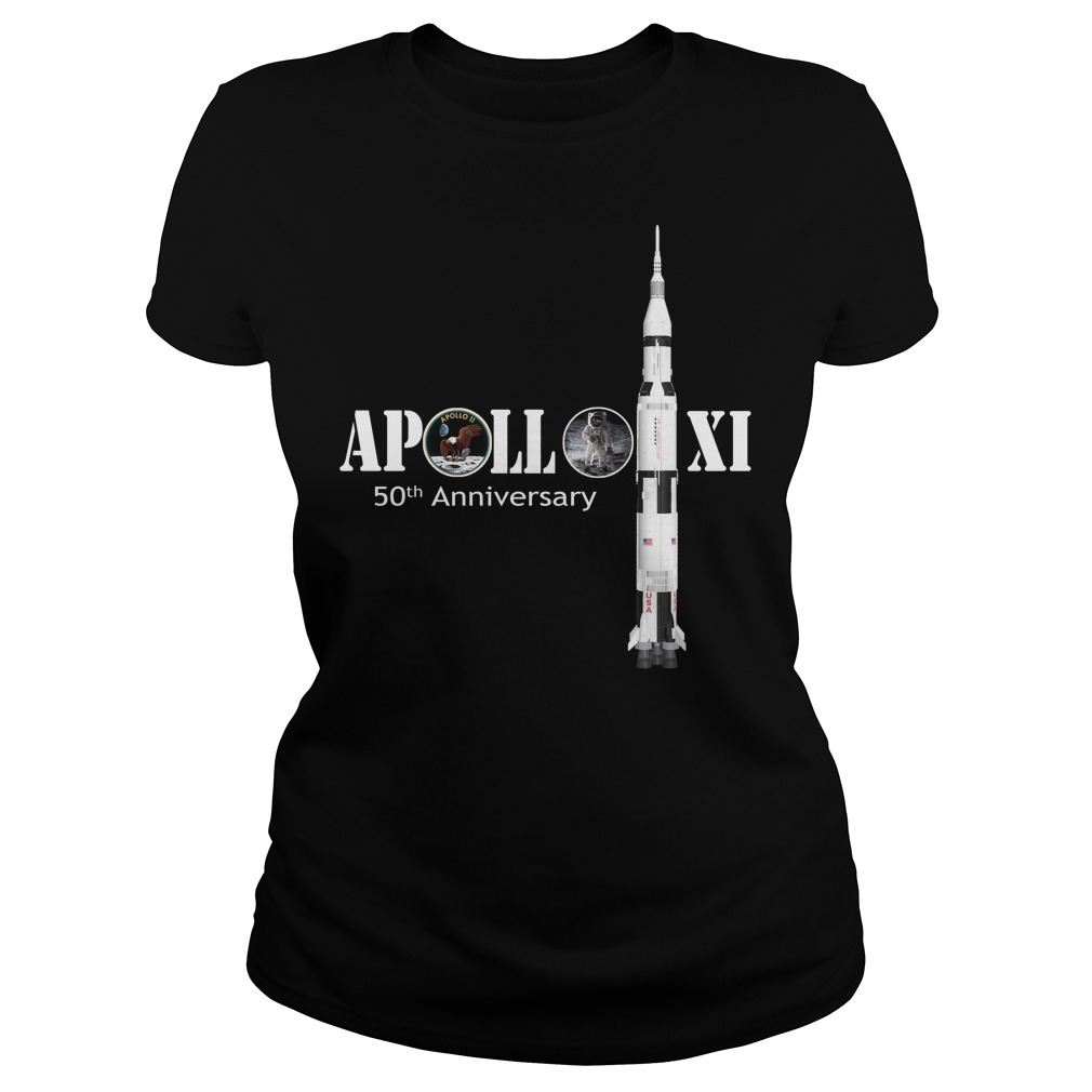 Nasa Apollo 11 50th anniversary Ladies Tee
