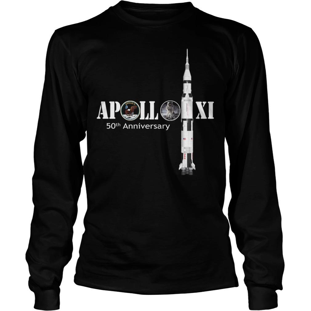 Nasa Apollo 11 50th anniversary Longsleeve Tee