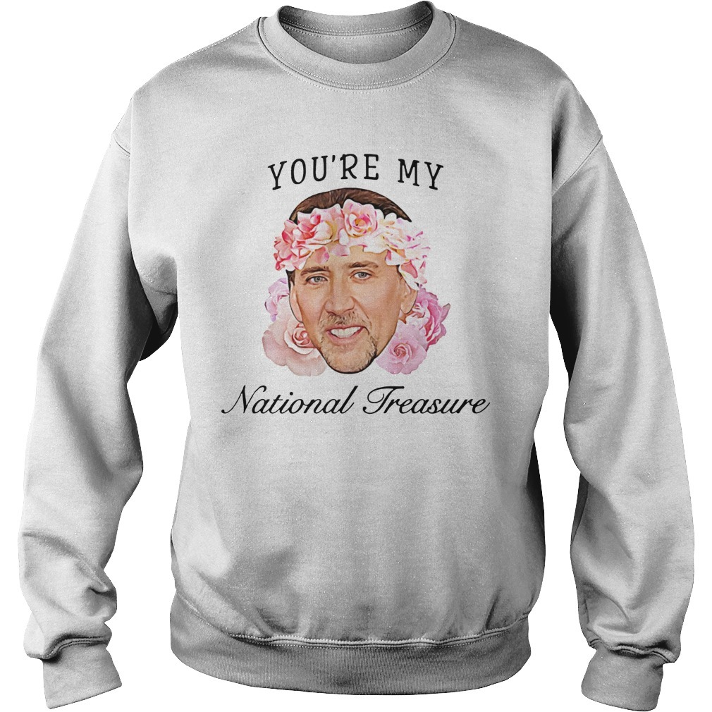 Nicolas Cage you're my national treasure Sweater