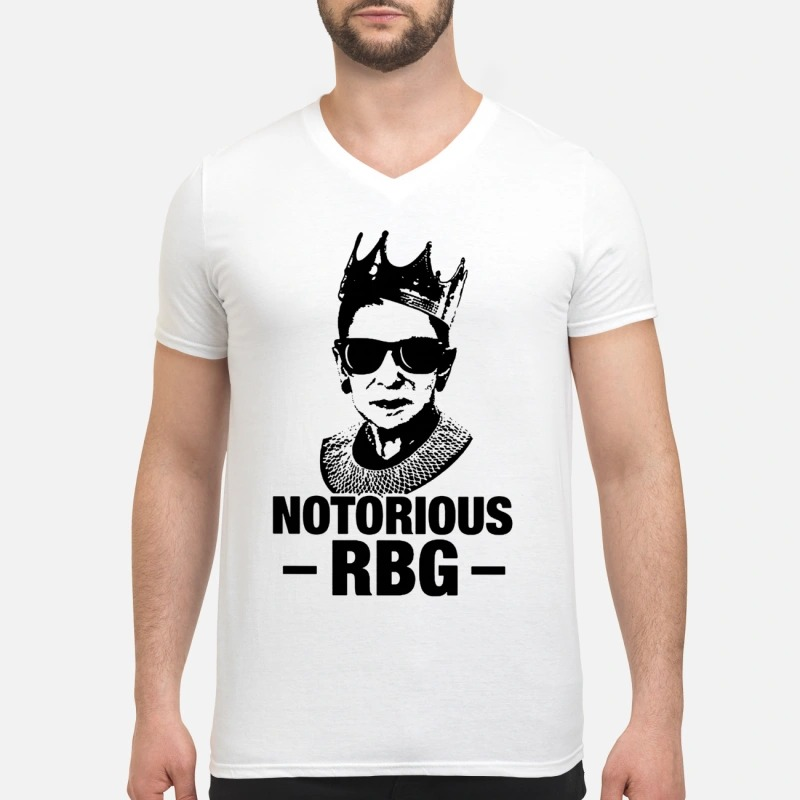 Notorious RBG ruth bader ginsburg V-neck T-shirt
