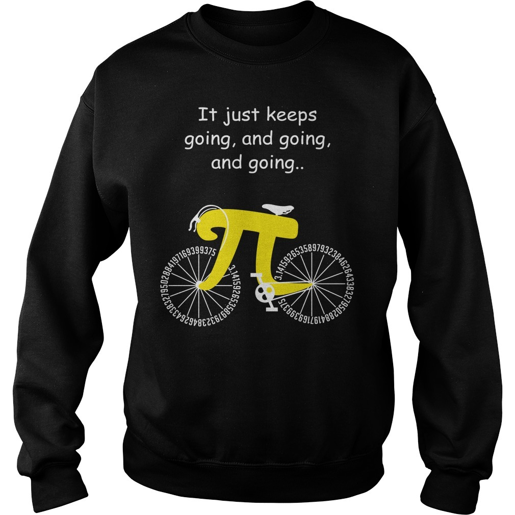 Pi cycle it just keeps going and going and going Sweater