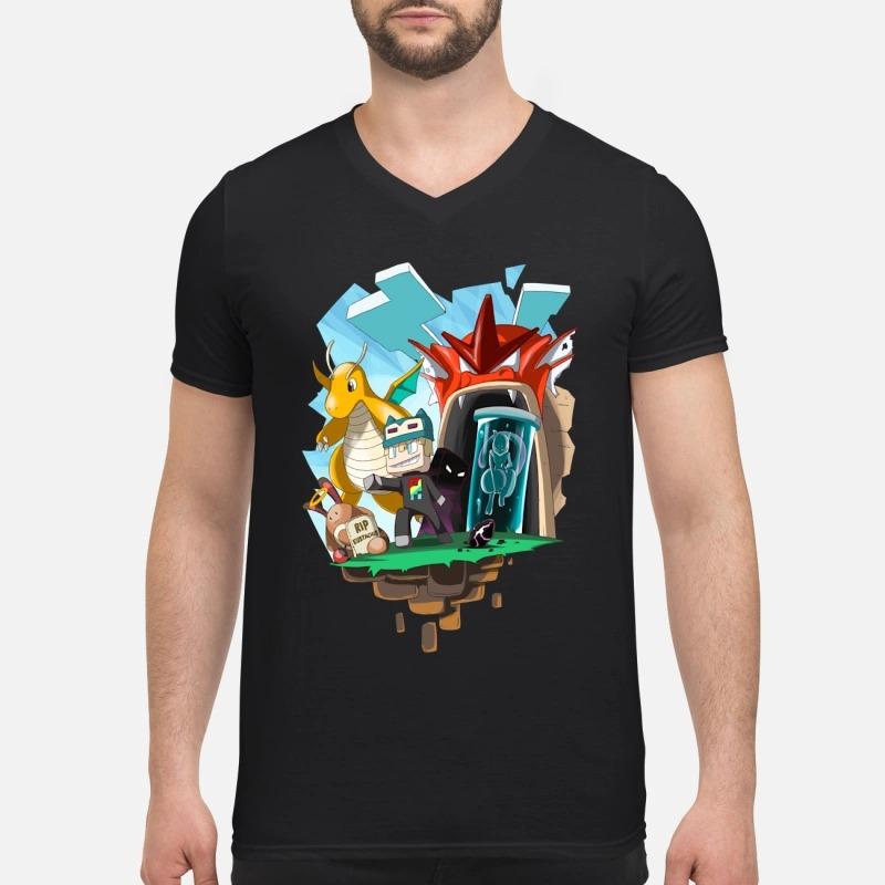 Pixelmon GX V-neck T-shirt