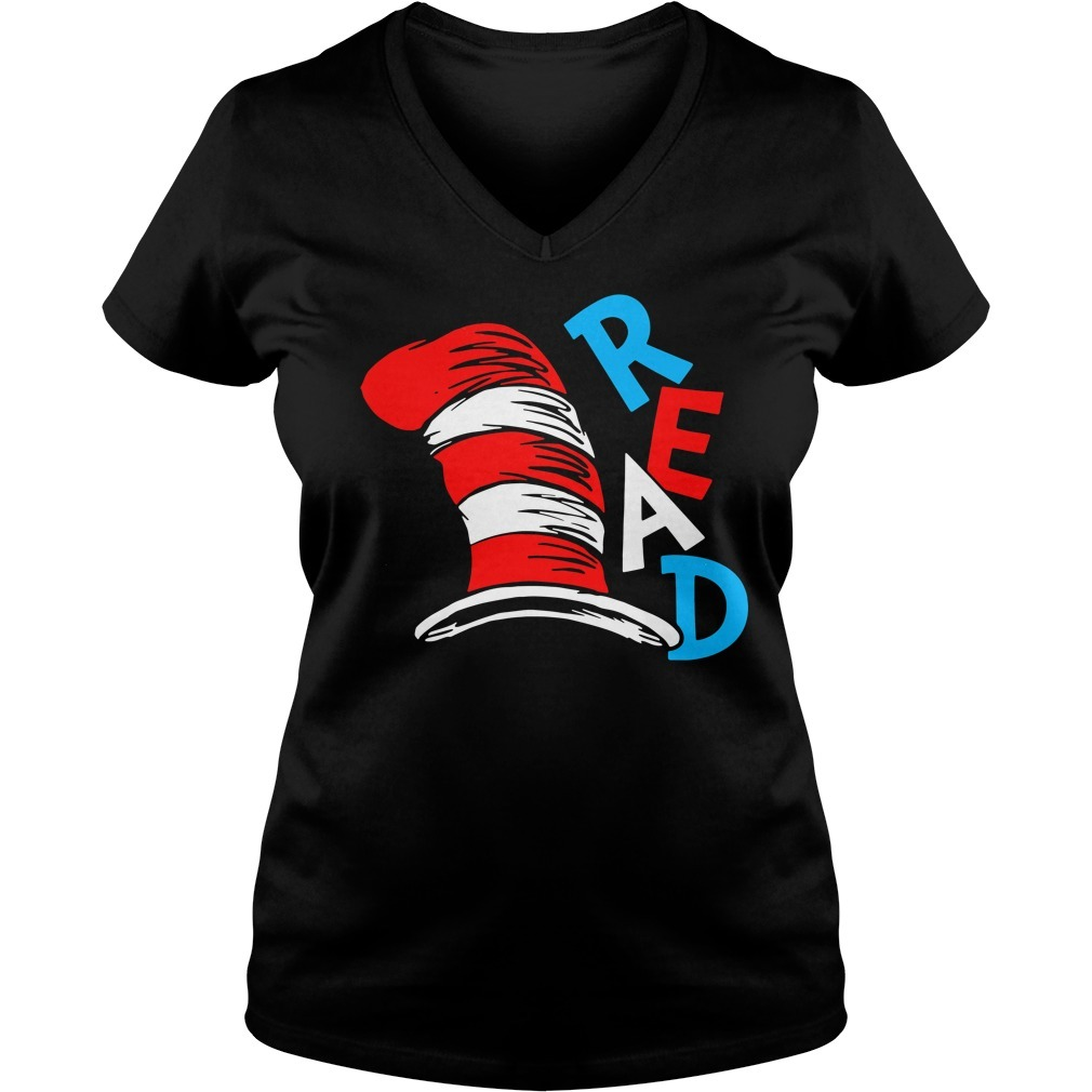 Read everyday V-neck T-shirt