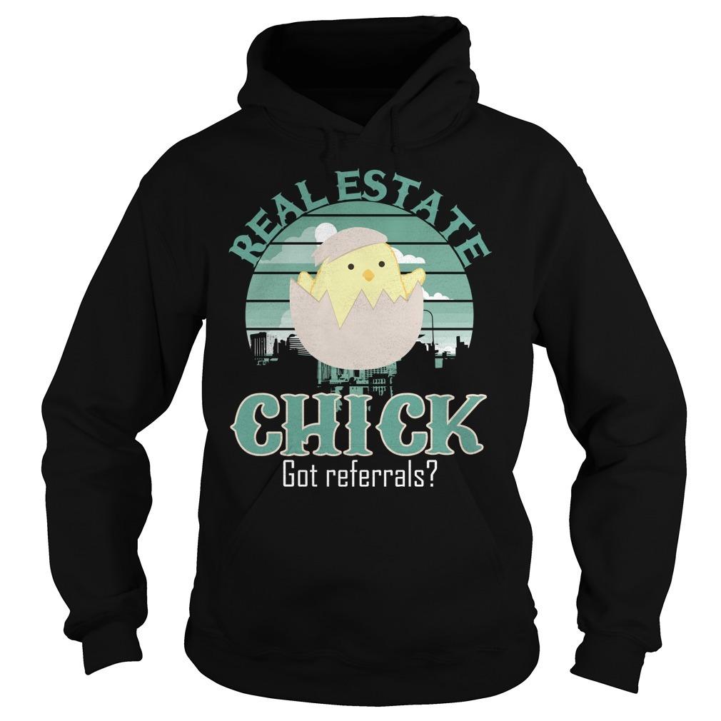 Real estate chick got referrals Hoodie