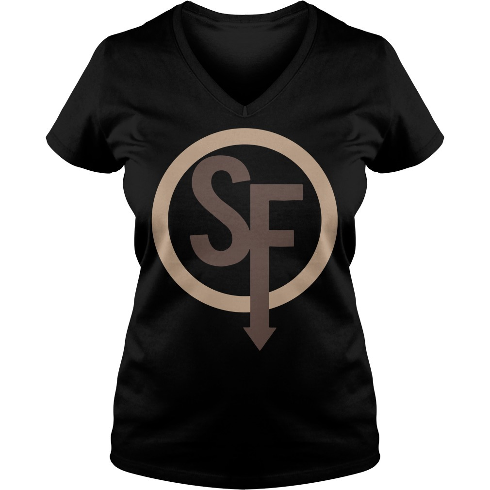 Sally face sanity's fall Larry V-neck T-shirt