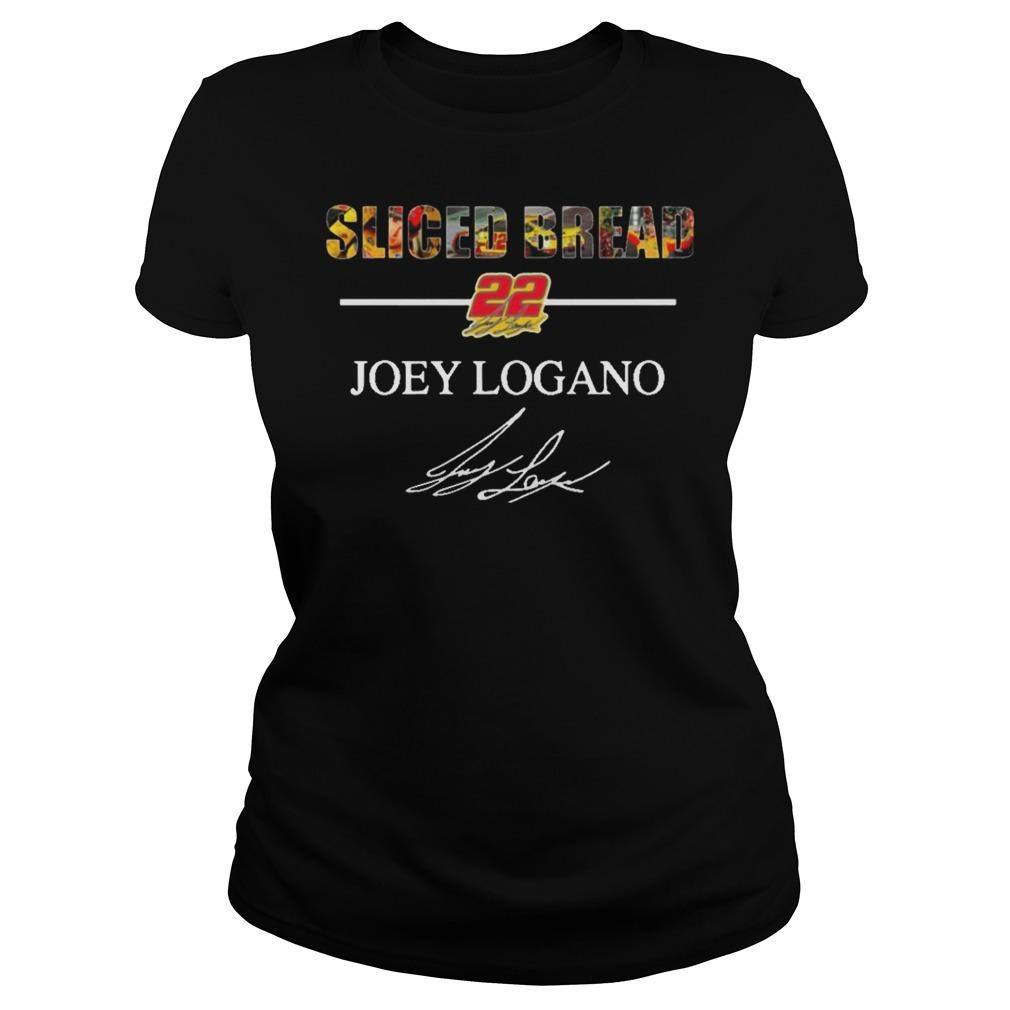 Sliced Bread 22 Joey Logano signature Ladies Tee