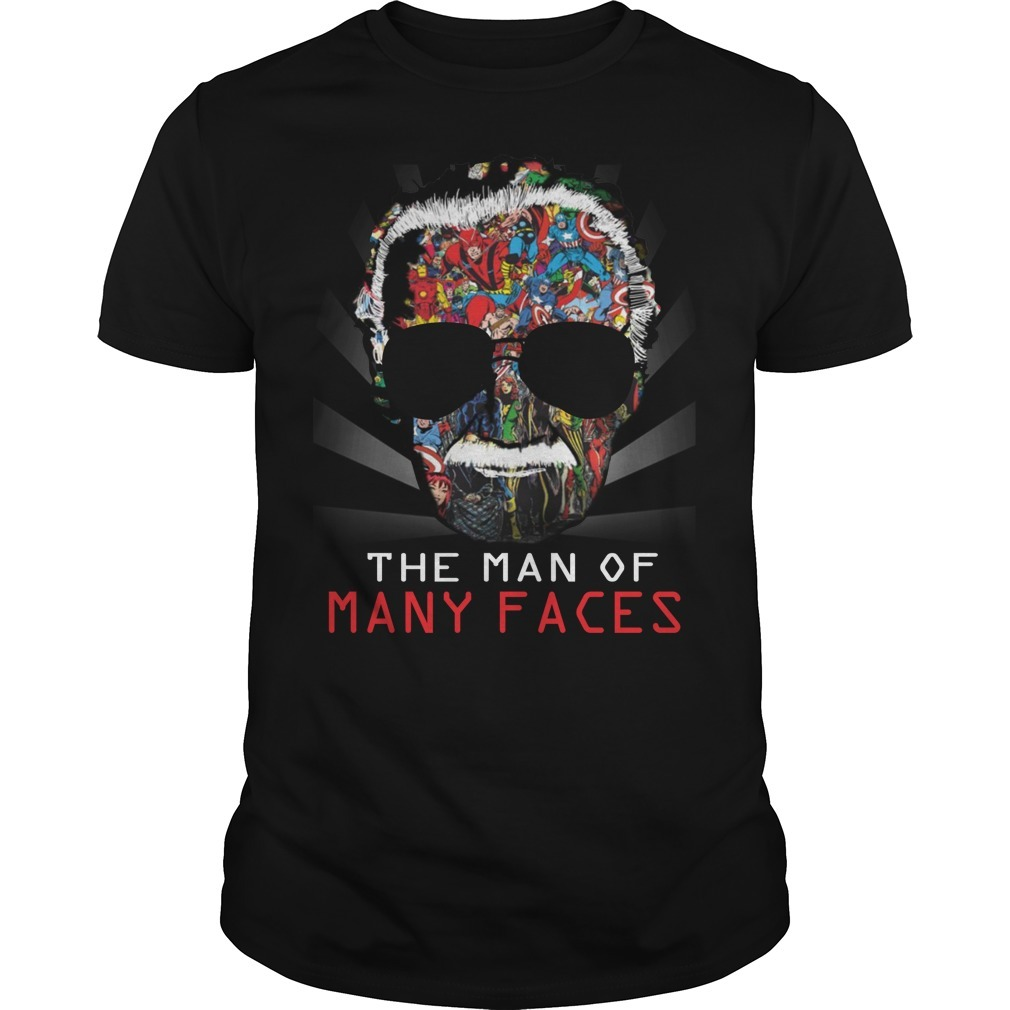 Stan Lee man of many faces shirt