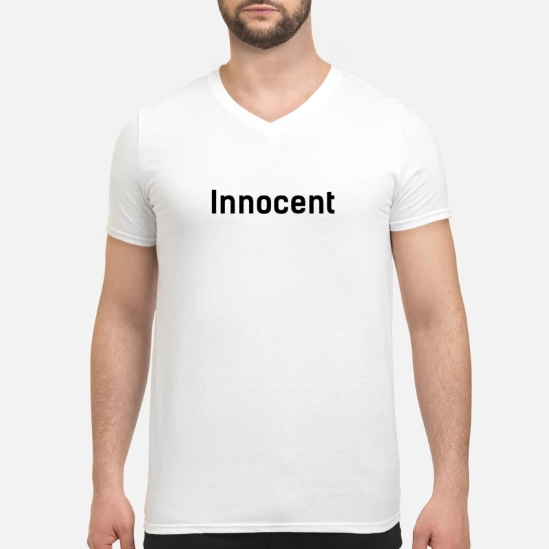 Taehyung Bts innocent V-neck T-shirt