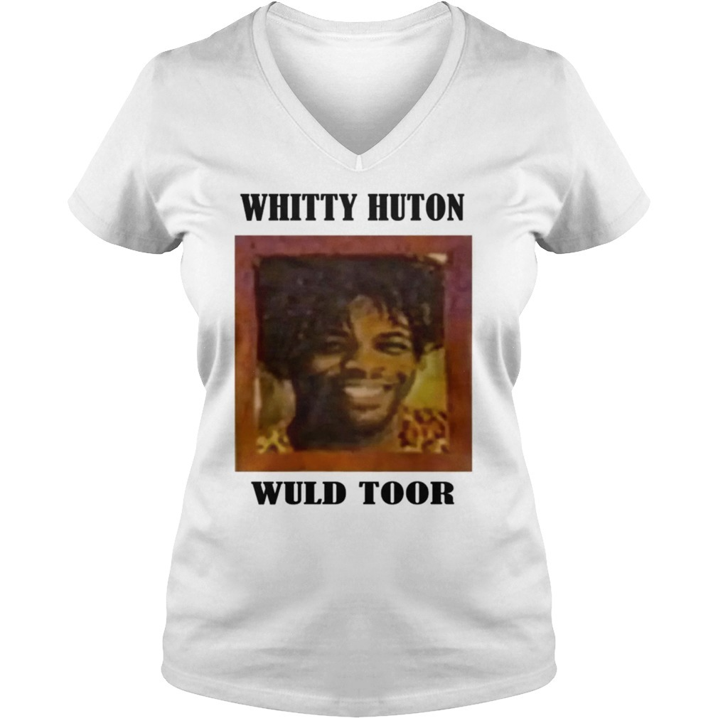 Whitty huton wuld toor V-neck T-shirt