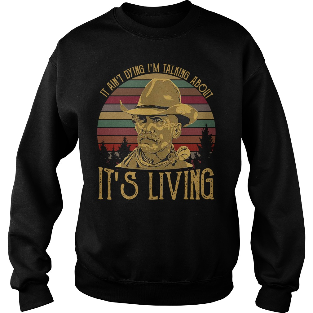 It ain't dying I'm talking about it's living vintage Sweater