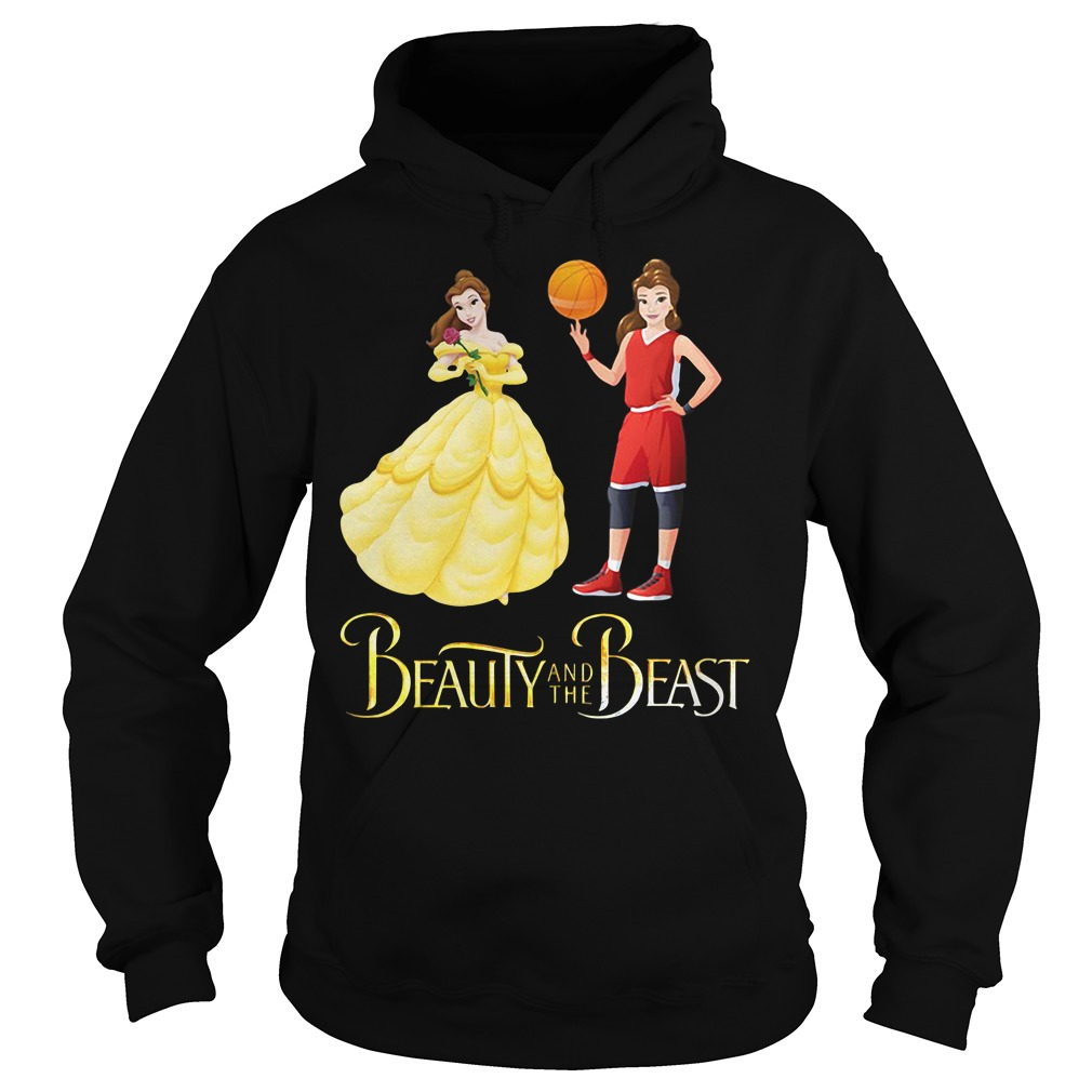 Beauty and the Beast Belle basketball Hoodie