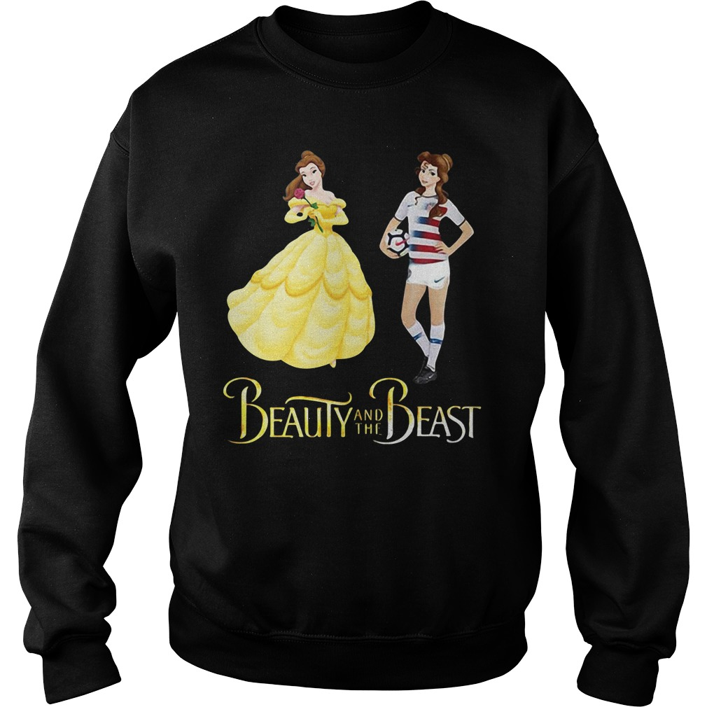 Beauty and the Beast Belle soccer Sweater