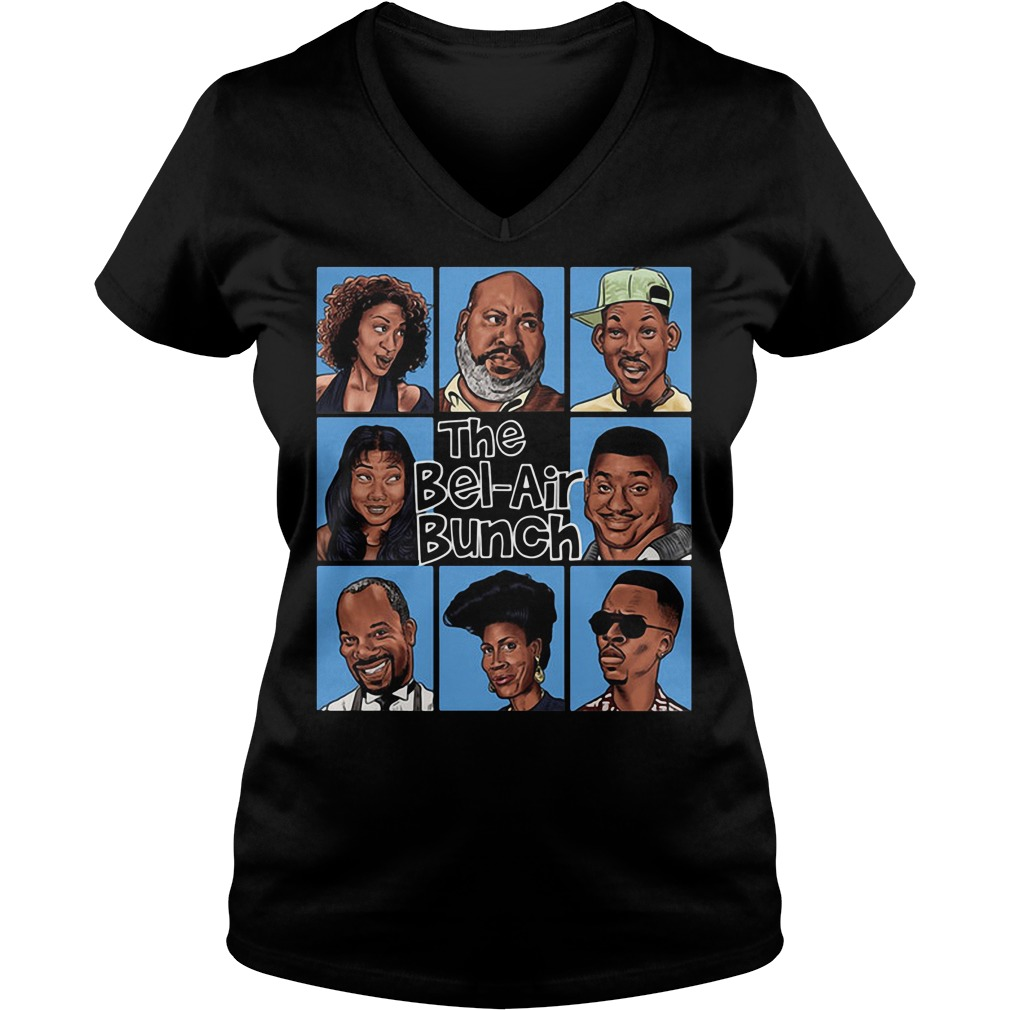 The bel air bunch V-neck t-shirt