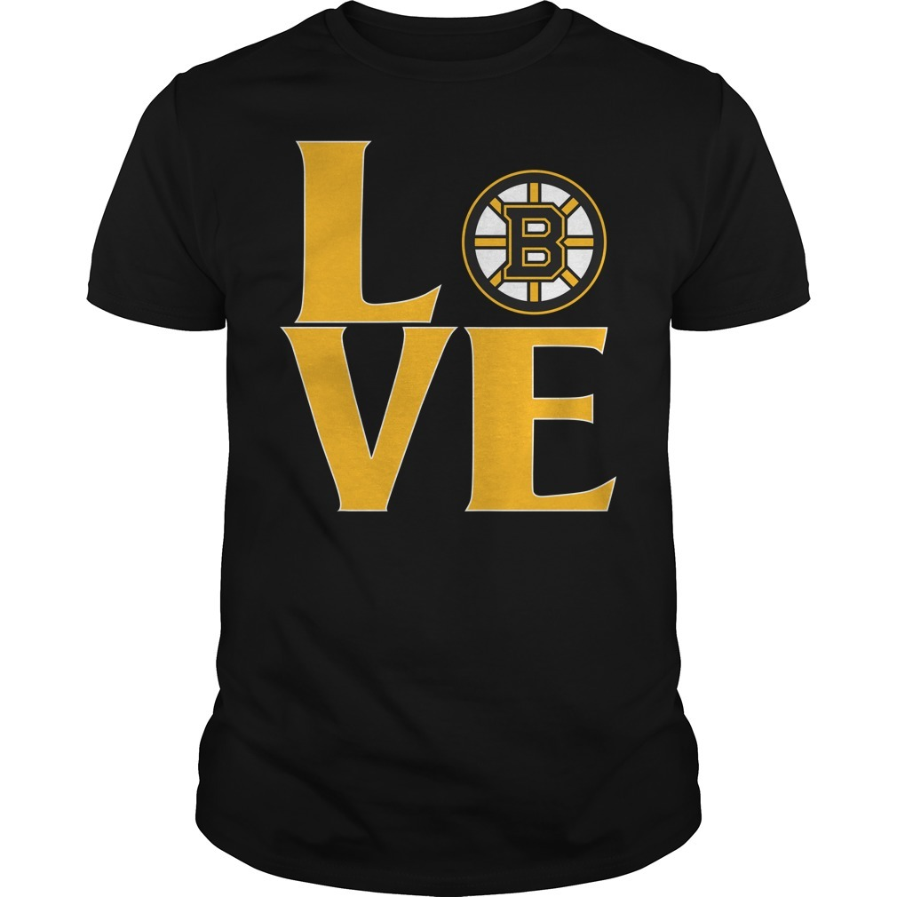 Bruins love shirt