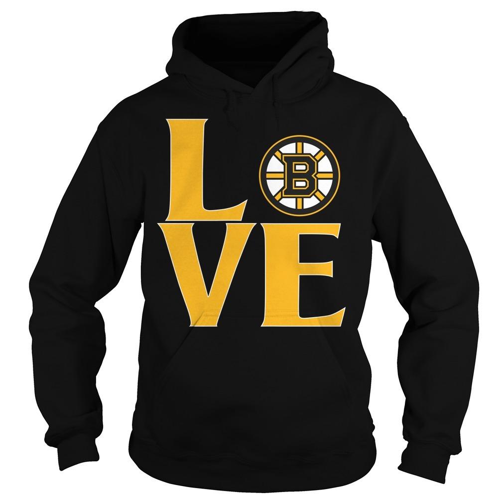 Bruins love Hoodie